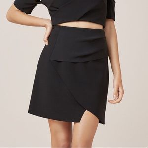 Finders Keepers Black Oblivion Skirt